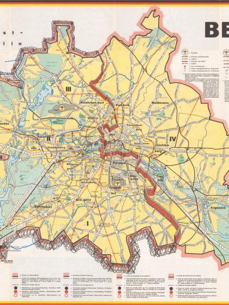 Map Berlin 1963
